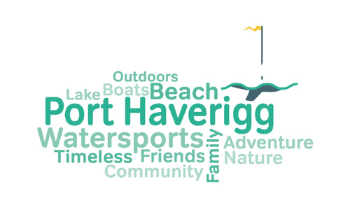 Port Haverigg Marina Village Wordle Image