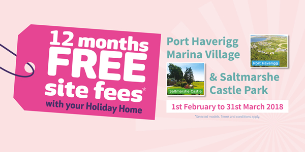12 months free site fees offer
